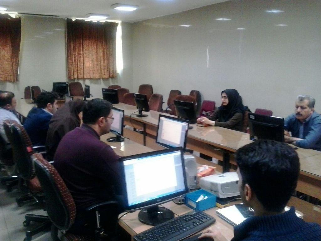تصویر از برگزاری کلاس آموزشی برنامه نوبت دهی مرکز آموزشی درمانی فیض