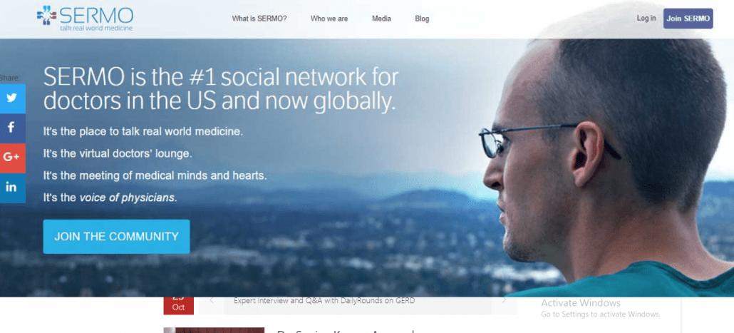 معرفی شبکه های اجتماعی برای پزشکان