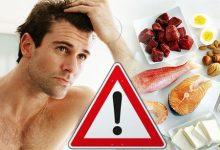 ریزش مو بر اثر کمبودهای تغذیه ای