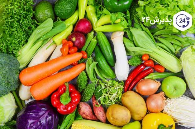 ضد عفونی کردن میوه و سبزیجات