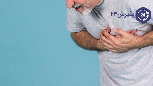 انواع درد قفسه سینه و تپش قلب