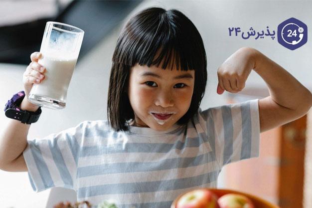افزایش وزن کودک لاغر