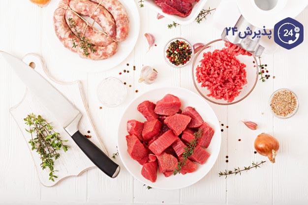 فایده گوشت در کم خونی