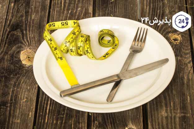 کاهش وزن بر اثر بی اشتهایی عصبی